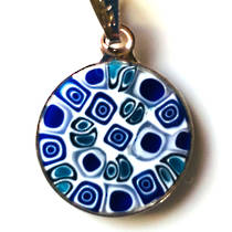 Murano Glass Pendant Millefiori 15mm 6