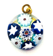 Millefiori Raised Pendant 18mm