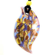 Murano Glass Pendant Caterina Blue/Lilac