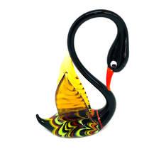 Murano Glass Ornament Swan 2