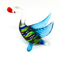Murano Glass Ornament Duck 1