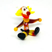 Murano Glass Clown - Miniature - Seated - 7