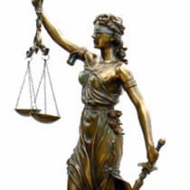 Themis, Dea Bendata della Giustizia 320mm