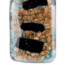Murano Glass Pendant Giudecca Brown 7/2