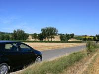 Hire car in Umbria
