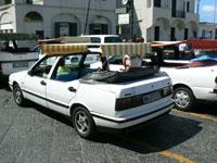 Taxi in Capri