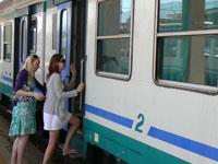 TrenItalia in use