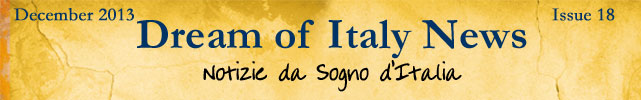 Dream of Italy December Newsletter