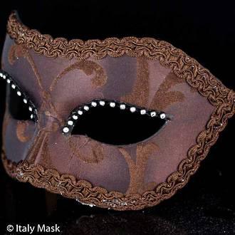 Venetian Masquerade Mask Colombina Delizia