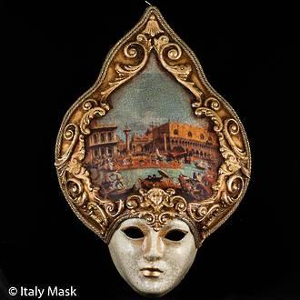 Venetian Masquerade Mask Salome Repubblica 3