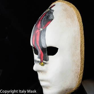 Venetian  Masquerade Full Face Mask- Volto Pantalone