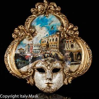 Venice Wall Art - Venetian Mask Salome 1