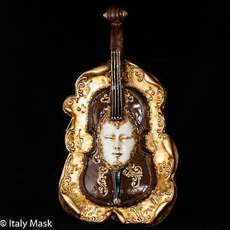 Venice Wall Art - Violin