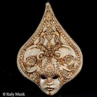 Venetian Masquerade Mask Salome Macrame