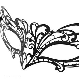 Venetian Masquerade Filigree Mask Colombina Lusso Dolcezza