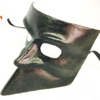 Venetian Masquerade Mask Bauta Black