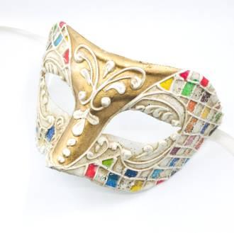 Venetian Masquerade Mask Colombina Carnevale 2