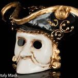 Venetian Masquerade Mini Mask, Casanova
