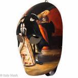 Venetian Carnival Masquerade Full Face Mask- Volto Disegno 8