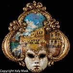 Venice Wall Art - Venetian Mask Salome 3