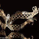 Masquerade Mask - Filigree - Mon Amour Gold