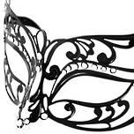 Venetian Masquerade Filigree Mask Colombina Lusso Arabella