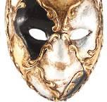Venetian Masquerade Mini Masks Voltino Scacchi