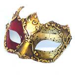 Venetian Masquerade Mask Colombina Cignetta Musica