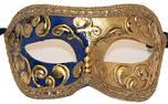 Colombina Mezza Gold-Blue