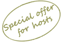 Special offer for masquerade hosts