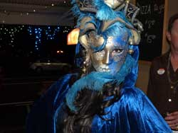 Winner of a 'Best Outfit' at Masquerade Event
