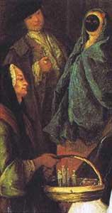 La venditrice di essenze by Pietro Longhi