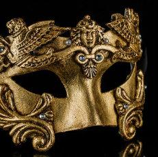 Venetian Baroque Masquerade Masks