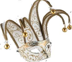 Venetian Masquerade Mask Jolly