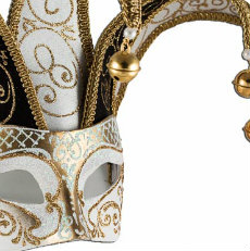 venetian jolly mask