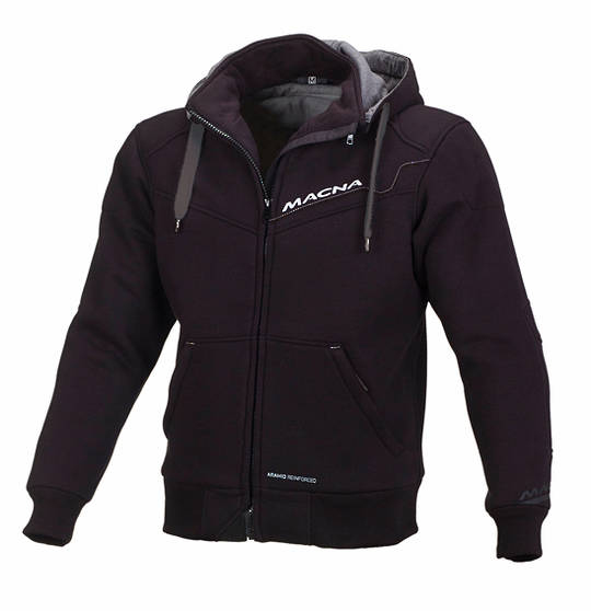 MACNA Mens Freeride Black Sweatshirt