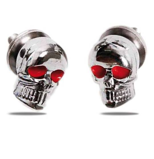 Skull Licence Plate Bolts