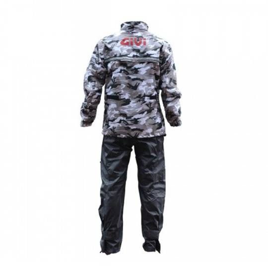 GIVI Rain Suit Camo (2pc set)