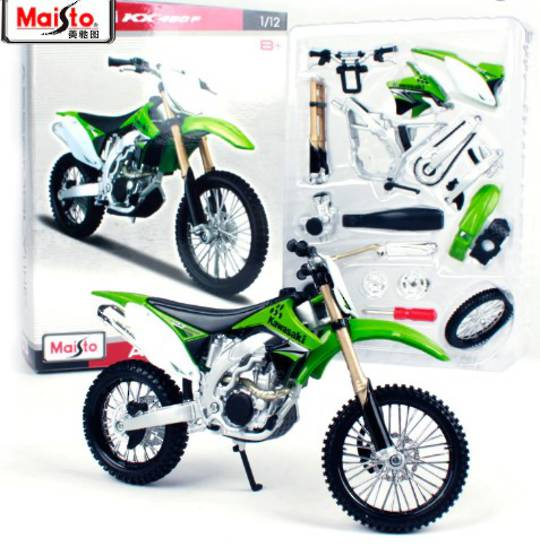 MODEL Maisto 1:12 assembly Kawasaki KX 450F