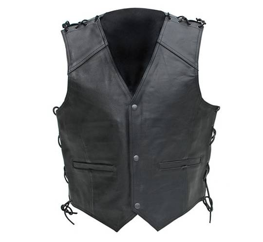 NEO Leather Dome Vest