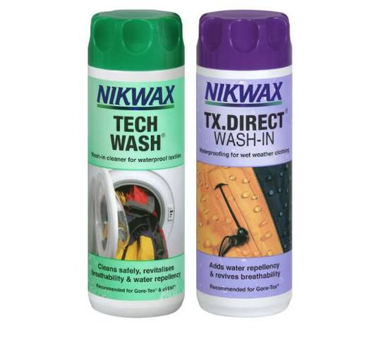 NIKWAX Twin pack Wash-in 300ml - TechWash & TXDirect