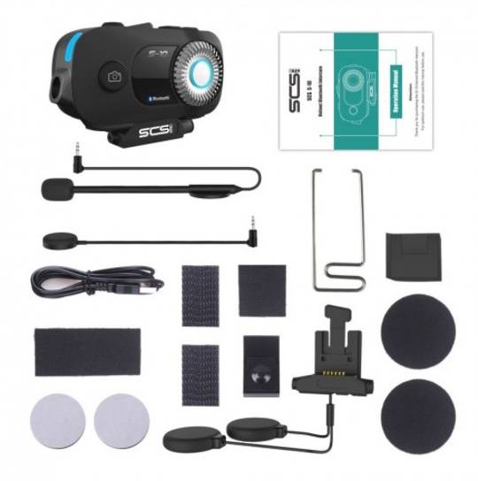 SCS-S10 Bluetooth, 1080P Camera, multi rider x4