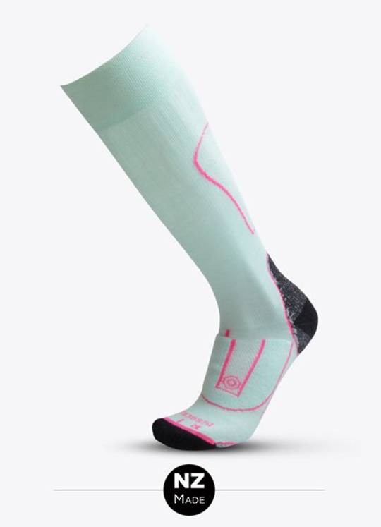 Merino Tec Long Sock Seaspray