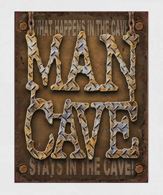 Tin Sign Man Cave