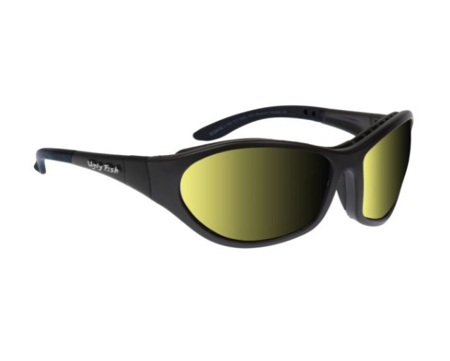 Ugly Fish Cruize Matt Black w Photochromic Yellow Lens