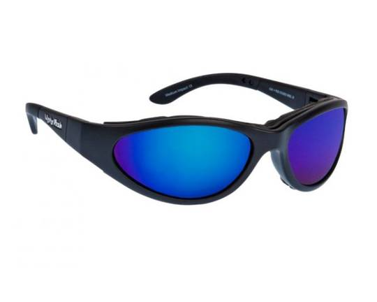 Ugly Fish Glide Matt Black w Blue Lens