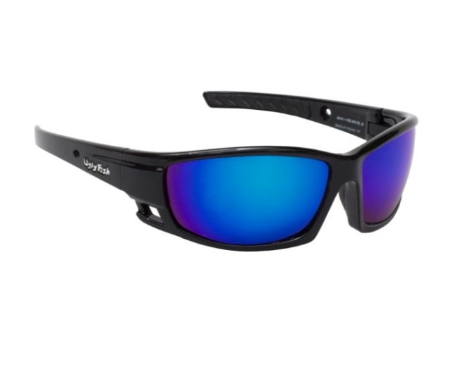 Ugly Fish Rocket Black Lustre w Blue Lens