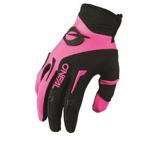 ONEAL Element Offroad Glove - Black-Pink Women sizes