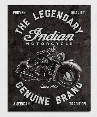 Tin Sign Indian Legendary