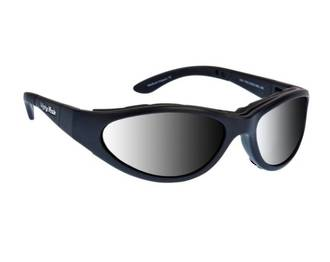 Ugly Fish Glide Matt Black w Photochromic Smoke Lens